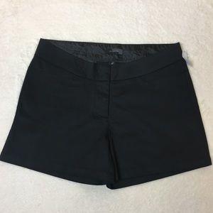 The Limited Black Slack Shorts Size 14 NWT